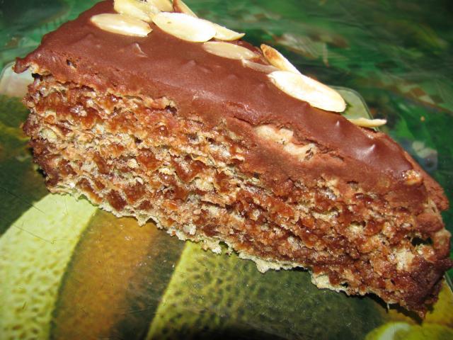 торт шоколадный без выпечки с фото