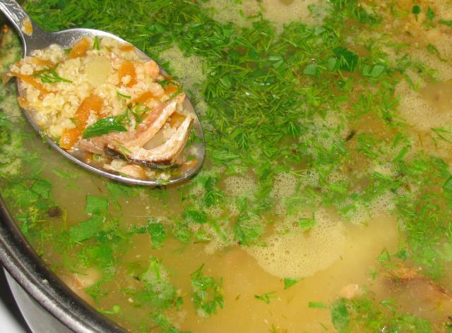 суп с красной рыбой рецепт с фото