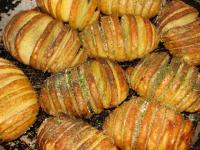 Гармошки из картошки