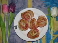"""Яблочные пирожные """"розы"""" - фоторецепт"""
