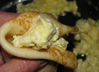 Бархатные блинчики с русской яичницей