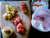 Арбузный десерт