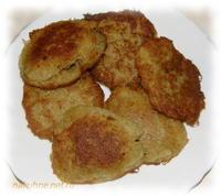Драники картофельные с грибами - фоторецепт