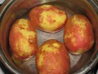 Фаршированные печеные картошки