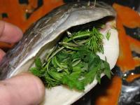 Рыба с морковью и  лимоном