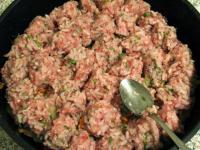 Запеканка из кабачков с мясом и рисом