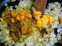 Суп-пюре из тыквы с карри
