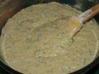 Закусочный кабачковый пирог с сыром