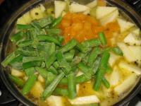 Овощной суп с кабачком