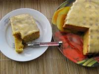 Кабачково-лимонный пирог
