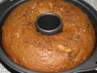 Пряничный кекс из овощей