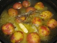 Картофель в помаде