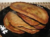 Закусочный пирог с печенью