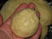 Тыквенные булочки с яблоками в карамельной заливке