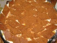 Торт бланманже с фруктами (без выпечки)
