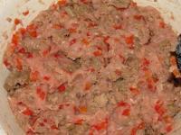 Куриная колбаса с печенью