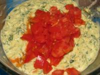 Кабачковый пирог с фрикадельками