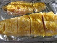 Белая рыба под апельсиновым соусом