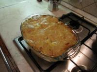 Картофельно-яблочная запеканка