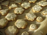 Имбирное песочное печенье