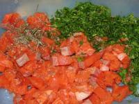 Расстегаи с красной рыбой - фоторецепт