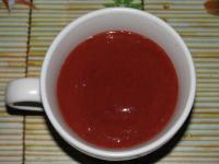 Клубничный соус,клубничное масло