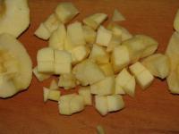 Блинный пирог с яблоками