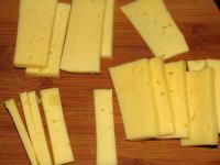 Закусочные гренки с сыром