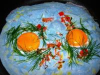 Голубая яичница