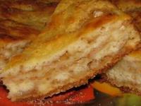 Яблочный пирог (странный) - фоторецепт
