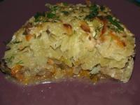 Запеканка картофельная с рыбой