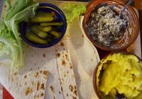 Рулет из лаваша с картошкой и грибами
