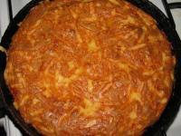 Творожно-луковый пирог(запеканка) - фоторецепт