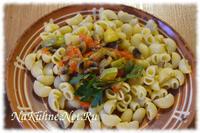 Овощная заправка с шампиньонами для макарон и риса