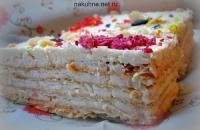 Молочно-сливочный крем для тортов