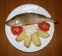 Рыбка, запеченая в фольге - фоторецепт