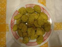 Печенье с морковкой и фисташками - фоторецепт