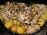 Картофель в ароматном масле