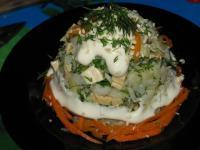 Салат из рыбы - фоторецепт