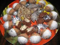 Шоколадные конфеты домашние - фоторецепт