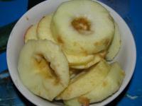 Творожно-тыквенная запеканка с яблоками