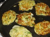 Кабачковые оладьи с картошкой