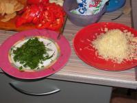 Морской окунь с овощами в фольге.