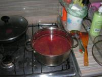 Суп из свекольной ботвы.