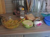 Салат из белокочанной капусты.