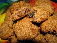 Постное овсяное печенье -  фоторецепт