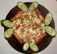 Салат с креветками - Фоторецепт