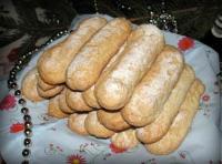 Савоярди - бисквитное печенье