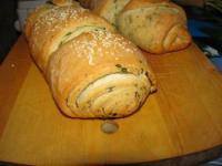 Белый хлеб (слоёный) - фоторецепт