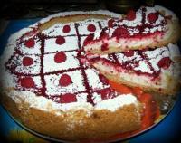 Пирог-ватрушка с ягодами